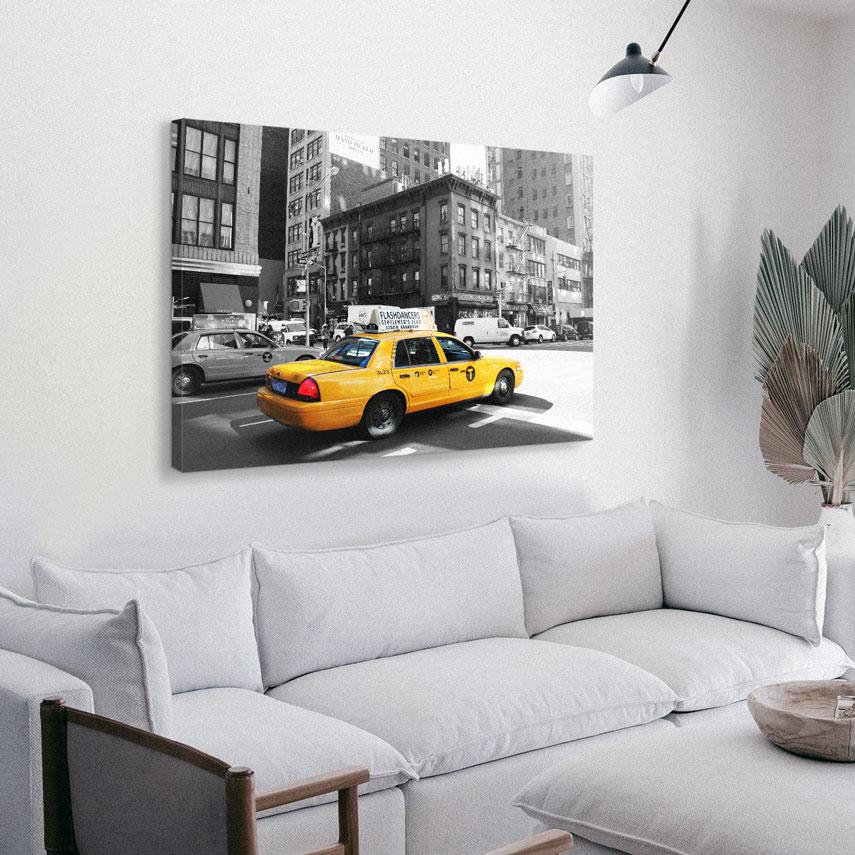 Tablou canvas NEW YORK TAXI - Pepanza.ro