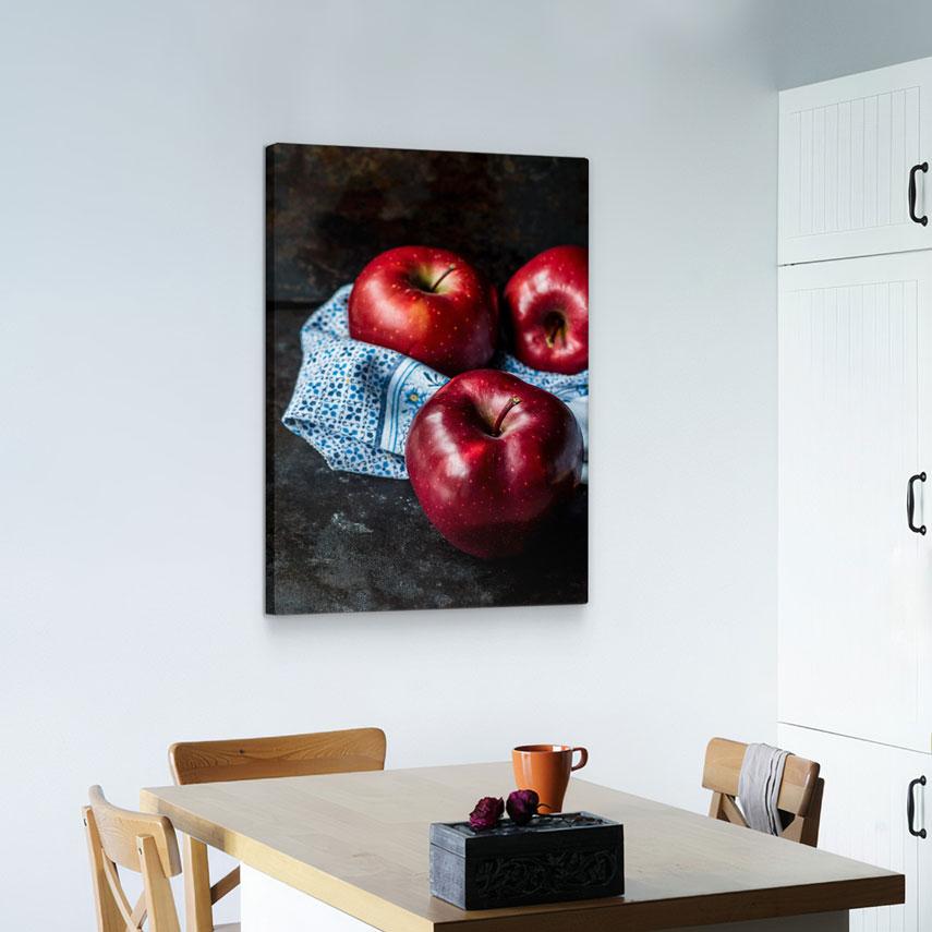 Tablou canvas Mere rosii - Pepanza.ro