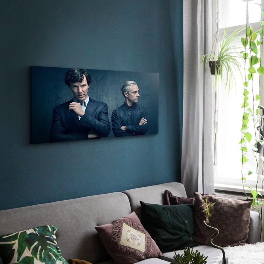 Tablou Filme Sherlock Holmes and Watson - Pepanza.ro