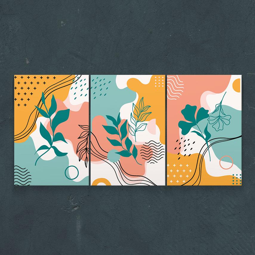 Arta colorata 3 piese- Pepanza.ro