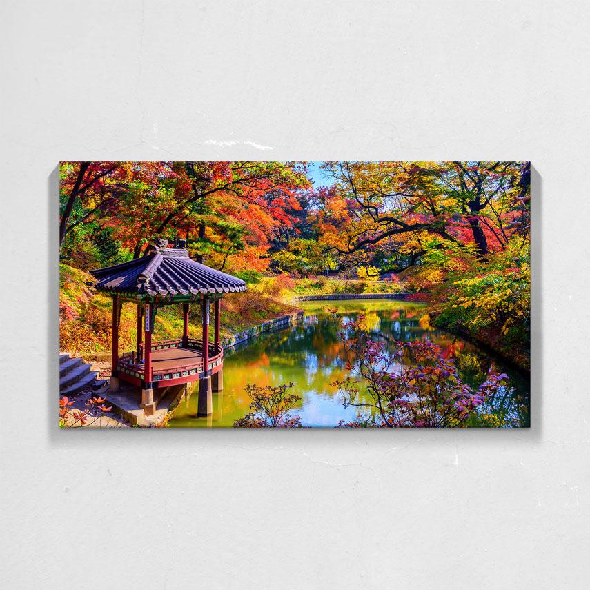 Peisaj de toamna colorat- Pepanza.ro