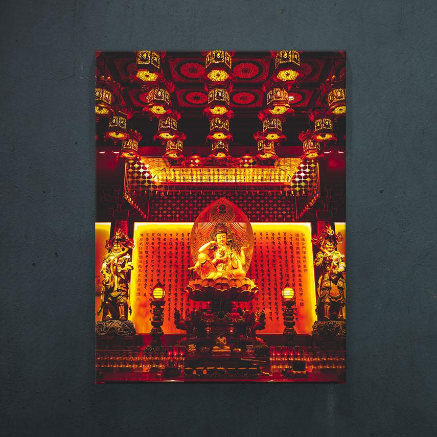 Interior Templu Buddha- Pepanza.ro