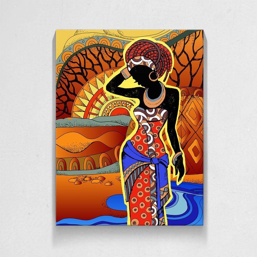 African girl- Pepanza.ro