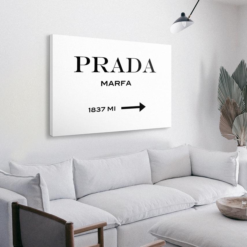 Tablou canvas Prada Marfa 70 x 50 CM - Pepanza.ro