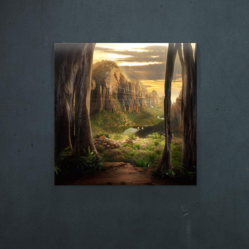 Tablou fantasy Natura abstracta - Pepanza.ro