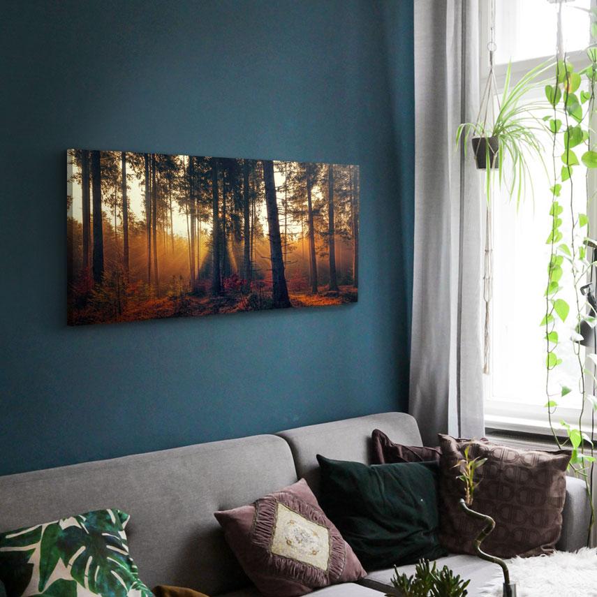 Tablou canvas Peisaj toamnă - Pepanza.ro