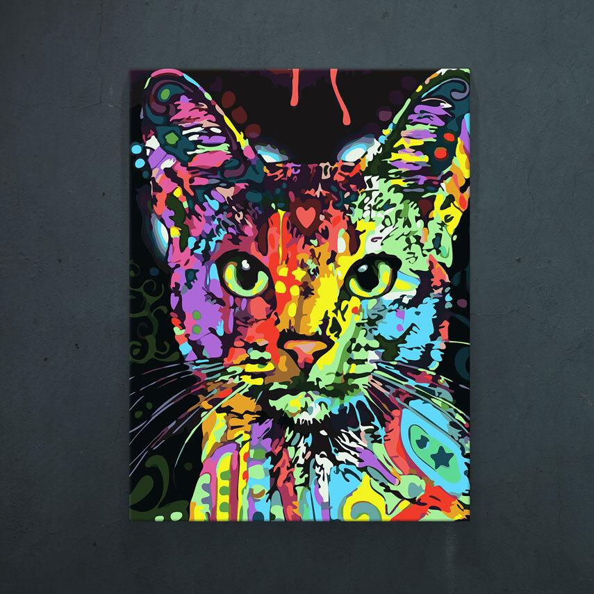 Abstract cat- Pepanza.ro