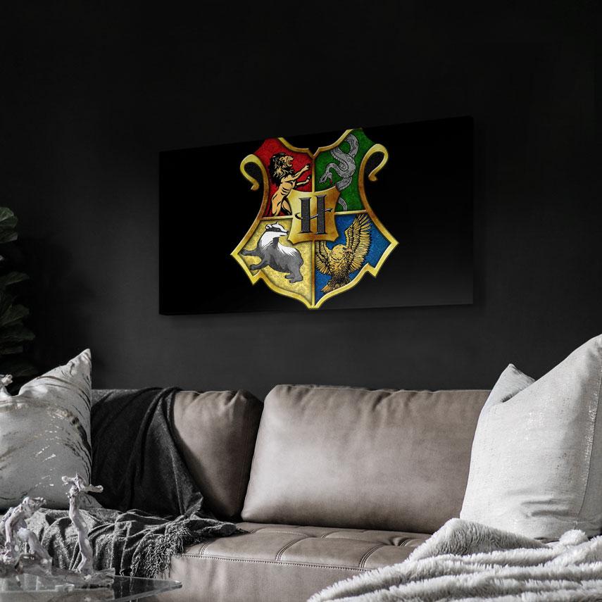 Tablou Filme Harry Potter - Casele Hogwarts - Pepanza.ro