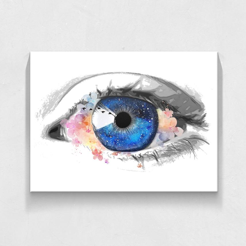Ochi cu flori- Pepanza.ro