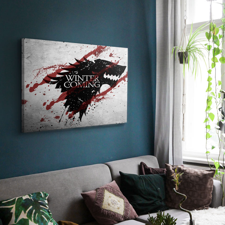 Tablou Filme Game of Thrones, Winter is Coming - Pepanza.ro