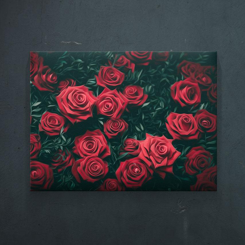 Trandafiri rosii- Pepanza.ro