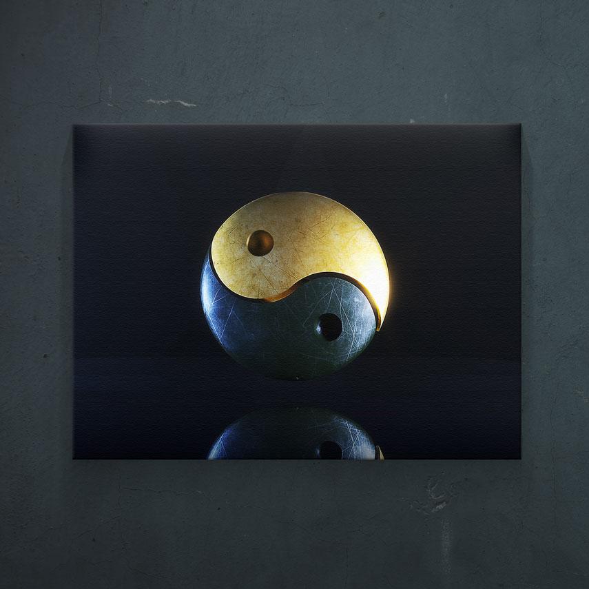 Reflectie Yin si Yang- Pepanza.ro