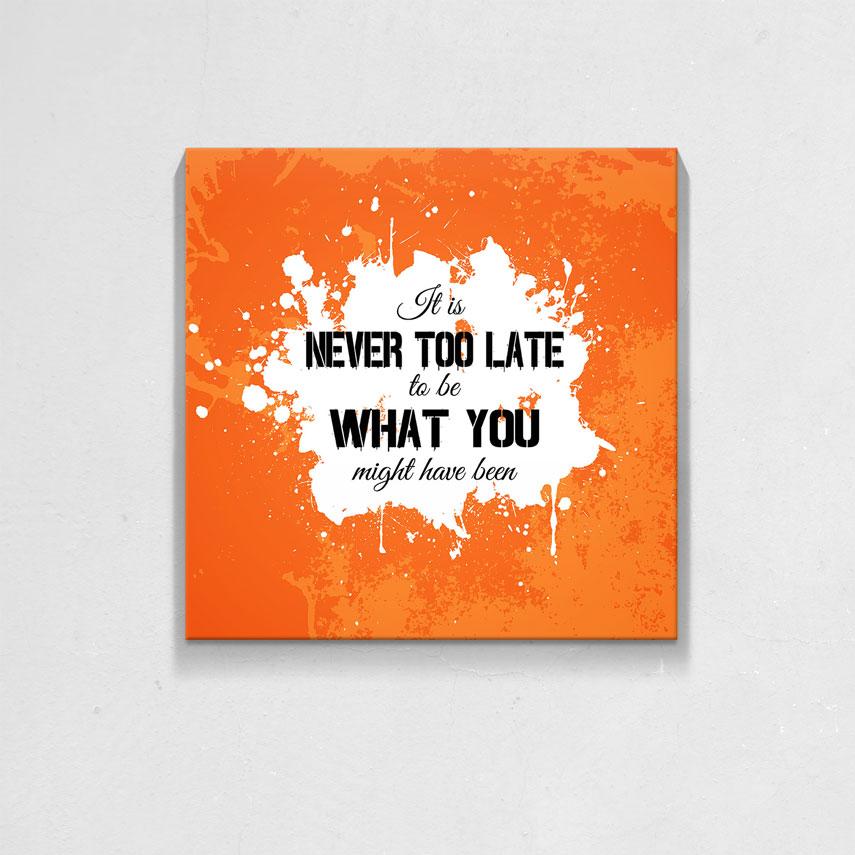 Never too late- Pepanza.ro