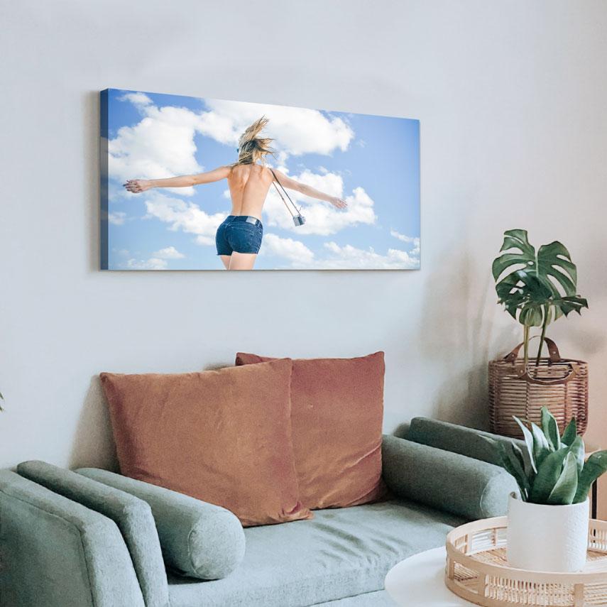 Tablou canvas Cer albastru de vară - Pepanza.ro