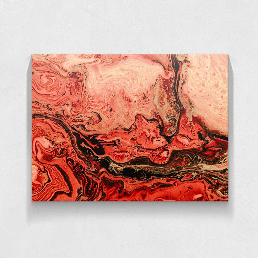 Abstract red- Pepanza.ro