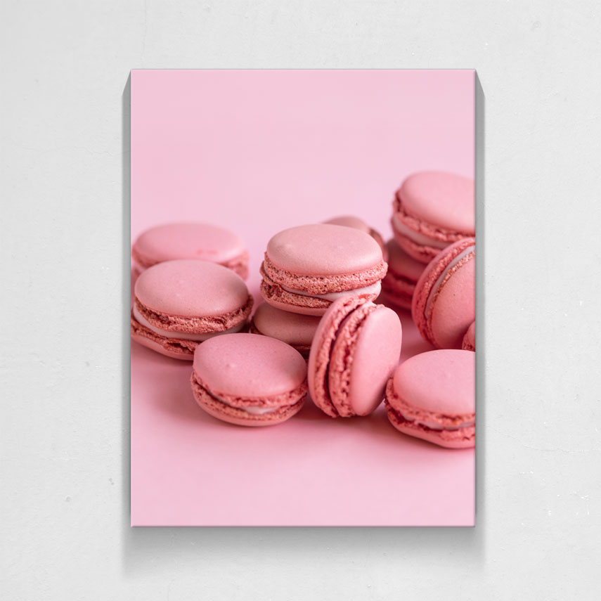 Pink macarons- Pepanza.ro
