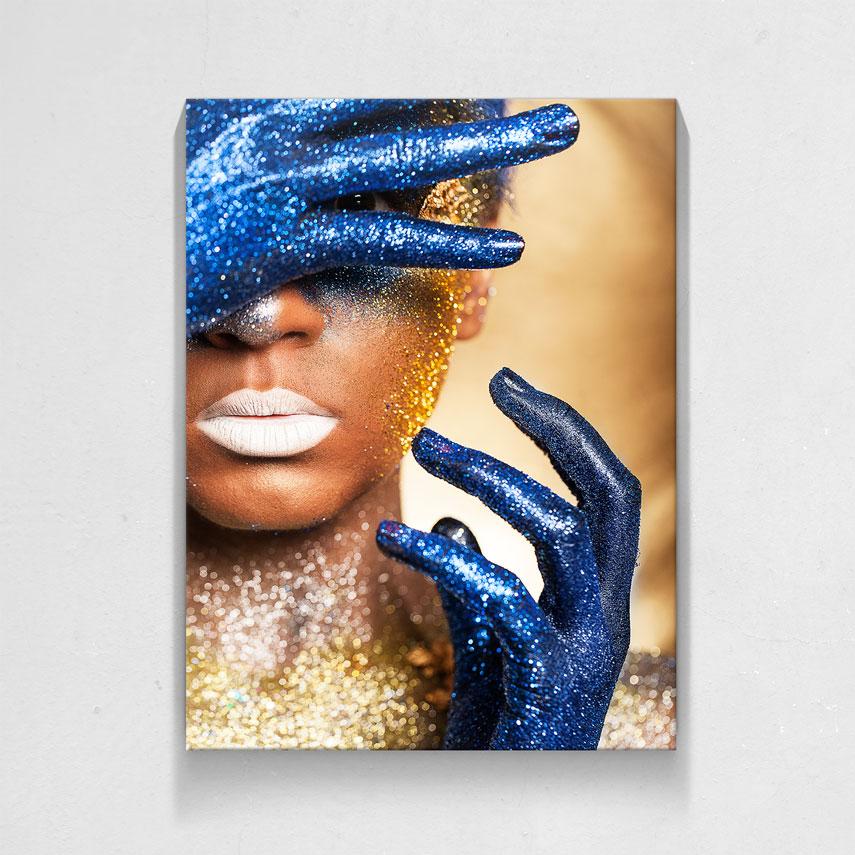 Gold and Blue- Pepanza.ro