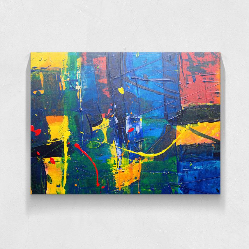Colorful painting- Pepanza.ro