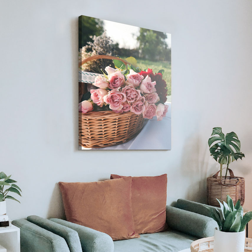 Tablou canvas Trandafiri Roz - Pepanza.ro