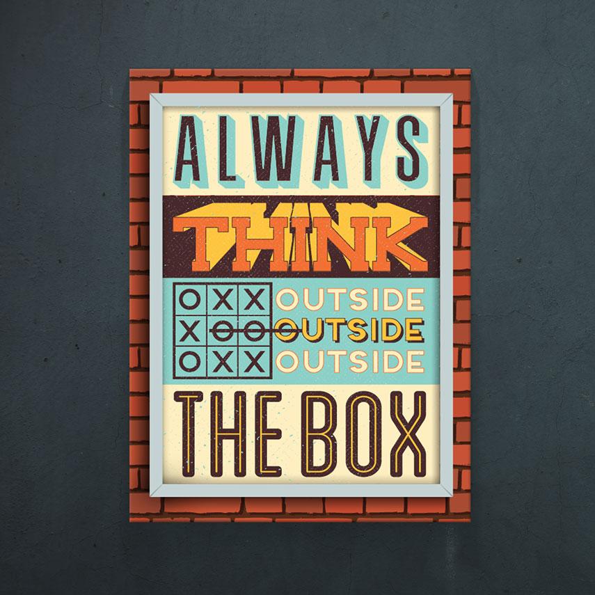 Think outside the box- Pepanza.ro